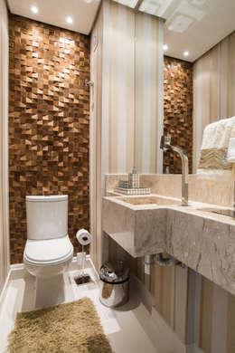 Projekty,  Łazienka zaprojektowane przez Renata Neves