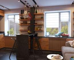 industrial Kitchen by GP-ARCH