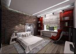 Комната для молодого парня: Спальни в . Автор – Студия дизайна Натали Хованской
