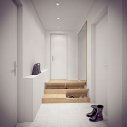 Corridor & hallway by YOUR PROJECT