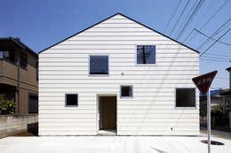 株式会社廣田悟建築設計事務所의  주택