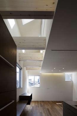 株式会社廣田悟建築設計事務所의  거실