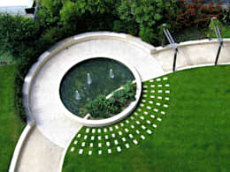 modern Garden by Bowles & Wyer