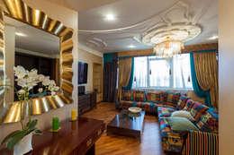 Квартира в современном стиле: Гостиная в . Автор – ARTteam