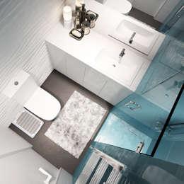 minimalistische Badkamer door insdesign II
