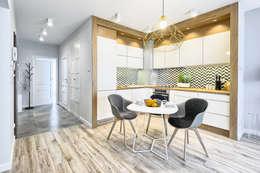 scandinavian Living room by Partner Design