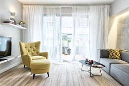 Livings de estilo escandinavo por Partner Design