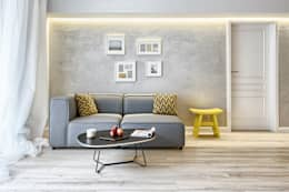 Livings de estilo escandinavo por Partner Design