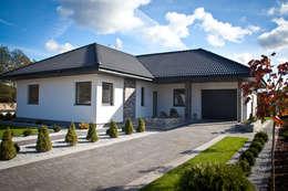 Realizacja projektu Neptun 4: styl nowoczesne, w kategorii Domy zaprojektowany przez Biuro Projektów MTM Styl - domywstylu.pl