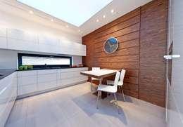 Cocinas de estilo moderno por BIURO PROJEKTOWE MTM STYL