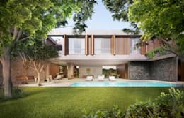 Дома в . Автор – Mader Arquitetos Associados