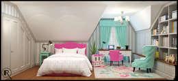 Интерьер дома  для молодой семьи: Детские комнаты в . Автор – Rash_studio