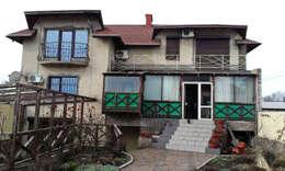 Дом до начала реконструкции: Tерраса в . Автор – Rash_studio