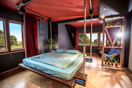Dormitorios de estilo  por Hanging beds
