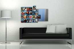 modern Living room by CD-Wall