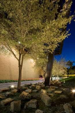 PUEBLO SERENA : Jardines de estilo moderno por HARARI LANDSCAPE