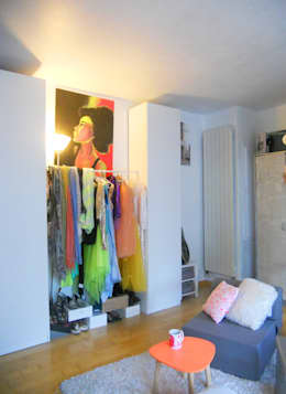 Sylviane Gestalderが手掛けた寝室