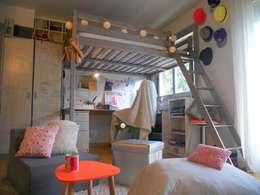 eclectic Bedroom by Sylviane Gestalder