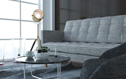 Mały salon: styl , w kategorii Salon zaprojektowany przez GoodDesign