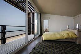 Natacha Goudchaux Architecte d'interieur의  침실