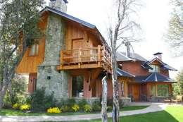 Projekty, nowoczesne Domy zaprojektowane przez Lüters ochoa arquitectos