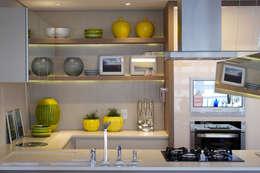 Apartamento DT: Cozinhas modernas por Carvalho e Patrício Arquitetos