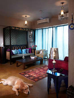 Turkish Delight: eclectic Living room by Interface