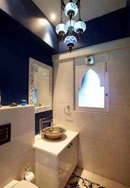 eclectic Bathroom by Interface