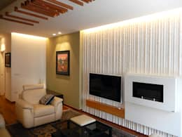 غرفة المعيشة تنفيذ Nicola Sacco Architetto
