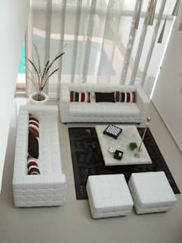 moderne Studeerkamer/kantoor door Paola Hernandez Studio Comfort Design