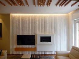 Salas de estilo moderno por Nicola Sacco Architetto