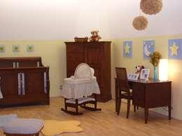 غرفة نوم تنفيذ Paola Hernandez Studio Comfort Design