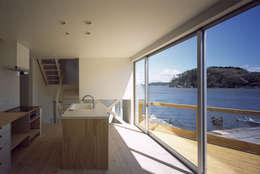 ハマノイエ: 関建築設計室 / SEKI ARCHITECTURE & DESIGN ROOMが手掛けたキッチンです。