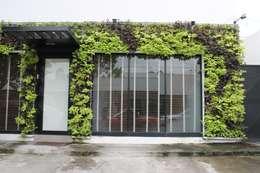 8 jardines frontales peque os y sensacionales for Estanques artificiales o prefabricados