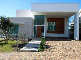 Casas de estilo moderno por Vieitez Bernils Arquitetos Ltda.