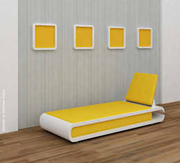 Couch Nailcutter: modern Spa by Preetham  Interior Designer