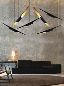 modern Living room by 4 home store