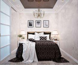 Dormitorios de estilo moderno de Студия дизайна Interior Design IDEAS