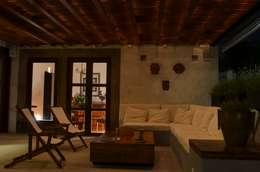 Terrazas de estilo  por Villanueva Fernandez Arquitectos