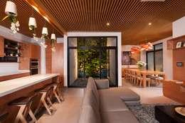 Livings de estilo moderno por LGZ Taller de arquitectura