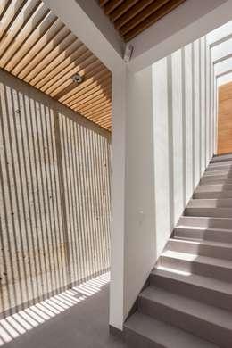 Pasillos y recibidores de estilo  por LGZ Taller de arquitectura