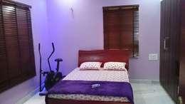S RESIDENCE : modern Bedroom by DESIGNER GALAXY
