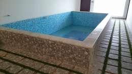 S RESIDENCE : modern Pool by DESIGNER GALAXY