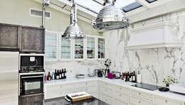 apartament eco prak: styl , w kategorii Kuchnia zaprojektowany przez PIKSTUDIO