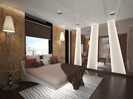 eclectische Slaapkamer door Decor&Design