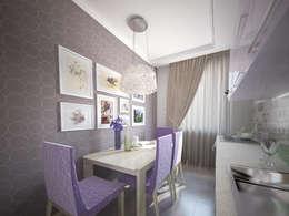лавандовый уют: Кухни в . Автор – Decor&Design