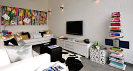 modern Living room by Leonor Moreira Romba - Arquitecturas