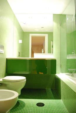 Teresa Pinto Ribeiro | Arquitectura |: modern tarz Banyo