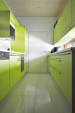 Projekty,  Kuchnia zaprojektowane przez Architekt DI Stefan Klein