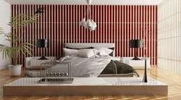 minimalistic Bedroom by grafica2d3d